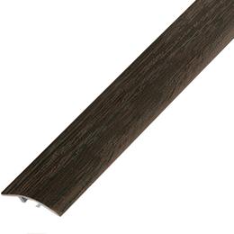 Ламинированный профиль,порог  арт.П-5 (100) 28х5,4 мм орех лесной, фото 2
