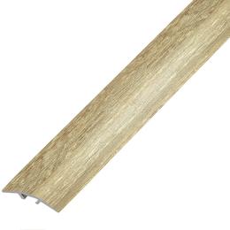 Ламинированный профиль,порог  арт.П-5 (100) 28х5,4 мм дуб сафари, фото 2
