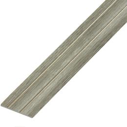 Ламинированный профиль,порог арт.П-6 (227) 28х3 мм дуб пепельный, фото 2