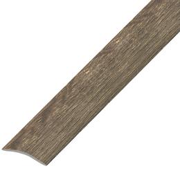 Ламинированный профиль,порог арт.П-7 25х3 мм дуб капучино