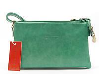 Сумка-клатч женская Pretty woman зеленого цвета 9463-2 (4639)