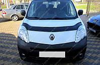 Дефлектор капота Рено Кангу 2 (мухобойка на капот Renault Kangoo 2)