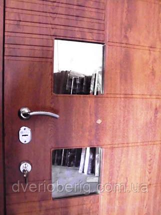Входная дверь двух створчатая 1500мм модель П5-500  vinorit-90 СТЕКЛА, фото 2