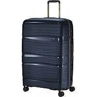 Валіза Travelite Motion на 4 колесах L Син. (105л,3,4 кг) (51х77х30см)