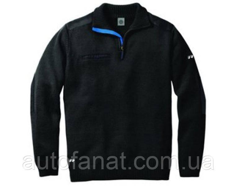 Оригинальный мужской вязаный пуловер Volkswagen R-Line Pullover, Men's, Black (1KV084100A528)