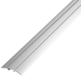 Алюминиевый профиль,порог арт. 200 33х9х900 мм серебро, фото 2