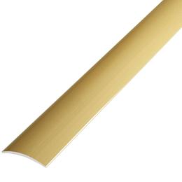 Алюминиевый профиль,порог арт. 202 20х3,5х900 мм золото