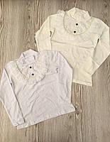 Школьная блузка для девочек  от 6 до 13 лет