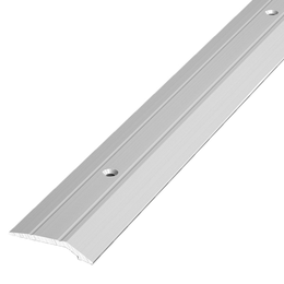 Алюминиевый профиль,порог арт. 226 28,5х5х1800 мм серебро, фото 2