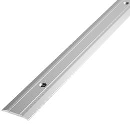 Алюминиевый профиль,порог  арт. 240 24х3х900 мм серебро, фото 2
