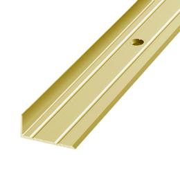 Алюминиевый профиль,порог арт. 320 25х10 мм золото, фото 2