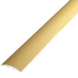 Алюминиевый профиль,порог арт. 390 39х4,5х900 мм золото, фото 2