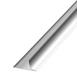 Алюминиевый профиль,порог арт. 608 10х2500 мм серебро, фото 2
