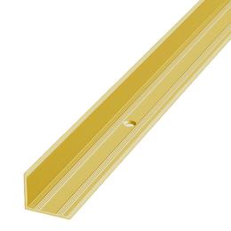 Алюминиевый профиль,порог арт. 617 17х10,8х2500 мм золото, фото 2