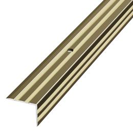 Алюминиевый профиль,порог арт. 696 20х20х900 мм бронза, фото 2