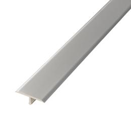 Алюминиевый профиль,порог арт. 717 14х9х2500 мм  серебро, фото 2