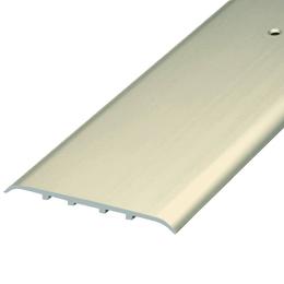Алюминиевый профиль,порог арт.1045 4,5х100 мм шампань