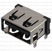 Гнездо USB тип A, 90°, монтажное (Тип 2)