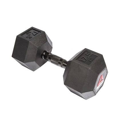 Гантель гексагональная Reebok 20 кг RSWT-11200, фото 2