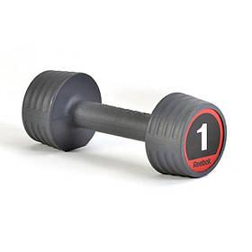 Гантель Reebok RSWT-10051 1 кг (черный)