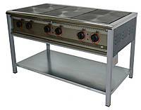 Плита электрическая без жарочного шкафа ПЭ-6