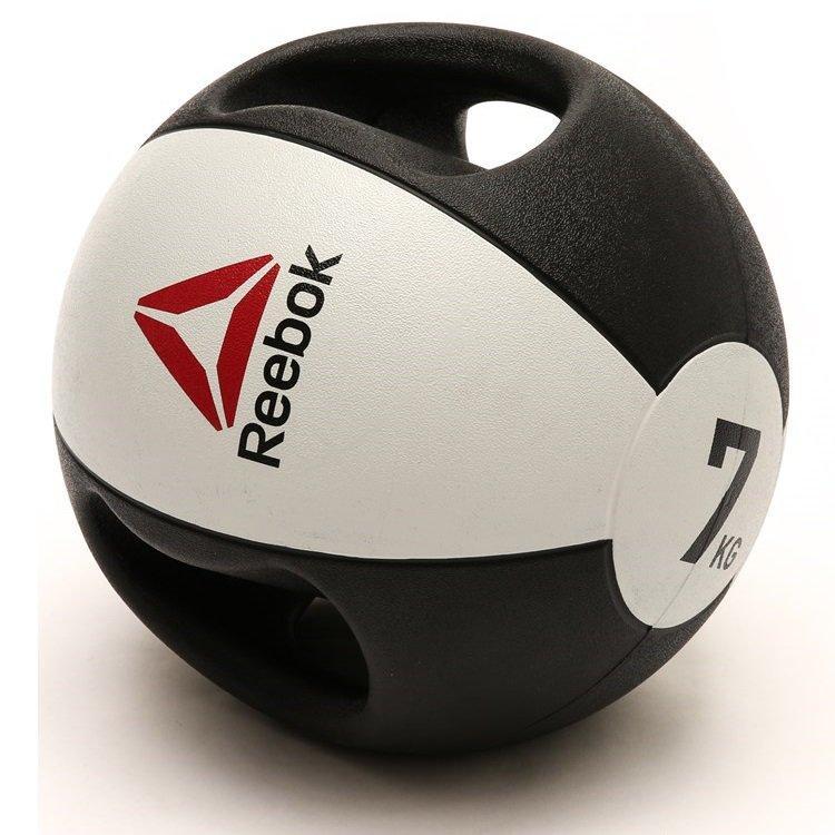 Медбол Reebok Double Grip Med Ball RSB-16127 - 7 кг
