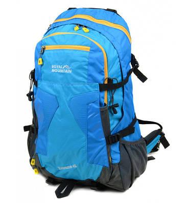 Рюкзак Туристический 40 л. Royal Mountain 8323 blue голубой