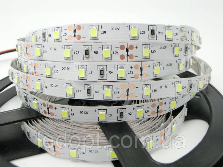 Светодиодная лента SMD3528 8W 60 LED/m IP20 Premium нейтральный Warm White 4000-4500k