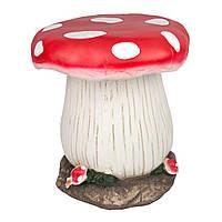 Садовая декорация из магнезии - стульчик Грибочек (820689)