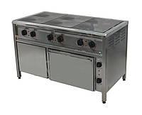Плита электрическая с жарочным и нейтральным шкафами ПЭ-6Ш Н