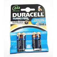 Батарейки микро пальчик LR03 Duracell TURBO MAX бл. 4шт (40) Артикул: 17271