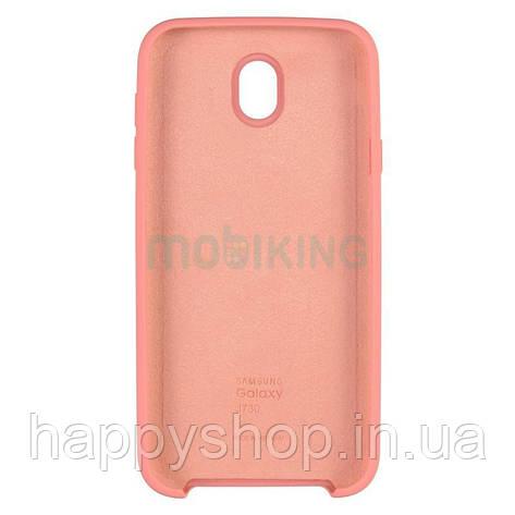 Оригинальный чехол Soft touch для Samsung Galaxy J7 2017 (J730) Pink, фото 2