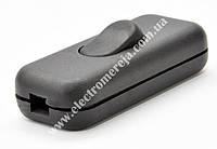 Вимикач на шнур (чорний) ПА-1202