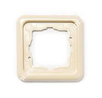 Рамка 1-місна 13012118 Regina ( сл. кістка) Polo