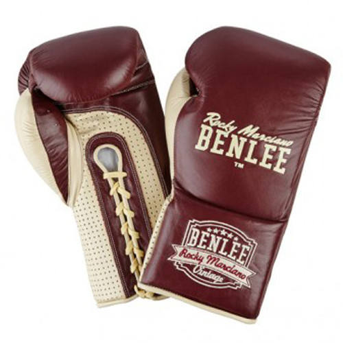 Перчатки боксерские BenLee Rocky Marciano Steele 10 R (199103/2025) Бордовый