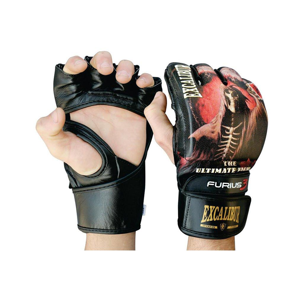 Перчатки MMA Excalibur 680 L черный