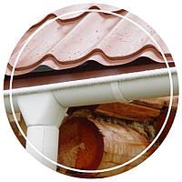 Водосточная система металлическая - украшение вашего дома