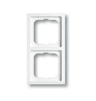 Рамка 2-місна Future  linear (біла) 1722-184К/10