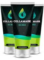 COLLAMASK - Восстанавливающая маска для лица с коллагеном (КоллаМаск) 1+1=3