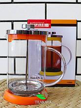 Френч-пресс для чая и кофе с силиконовым дном, 800 мл