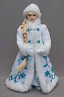 Новогодняя сувенирная фигурка Снегурочка в белой шубе, 35, 5 см, (600809)