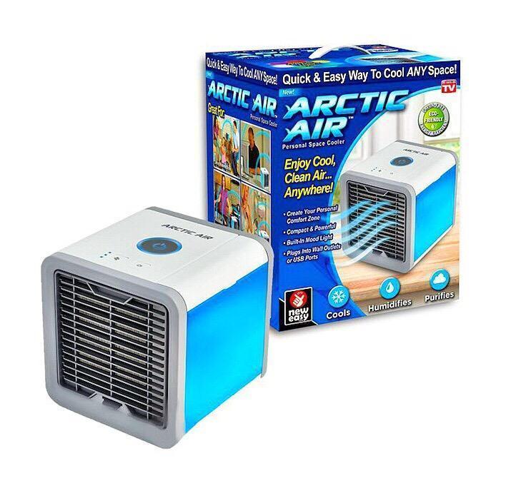 Портативный мини-кондиционер Arctic Air с фильтром