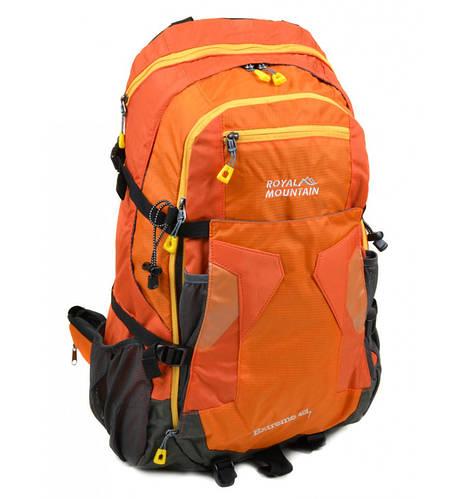 Рюкзак Туристический 40 л. Royal Mountain 8323 yellow оранжевый