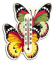 """Термометр комнатный """"Бабочка"""" (на липучке)"""