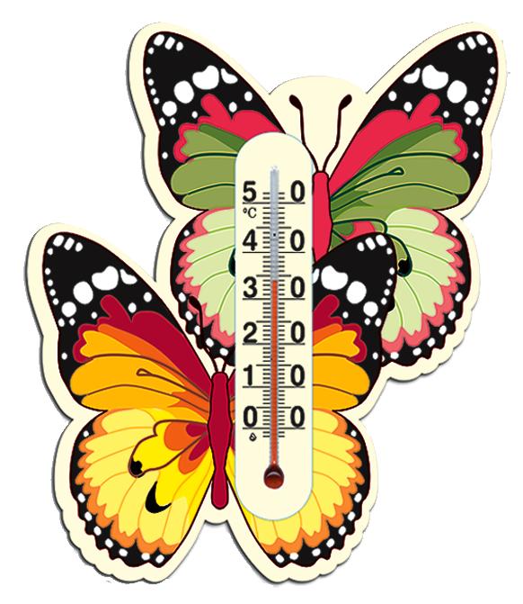 "Термометр комнатный ""Бабочка"" (на липучке) - Интернет-магазин ""VinnStore"" в Виннице"