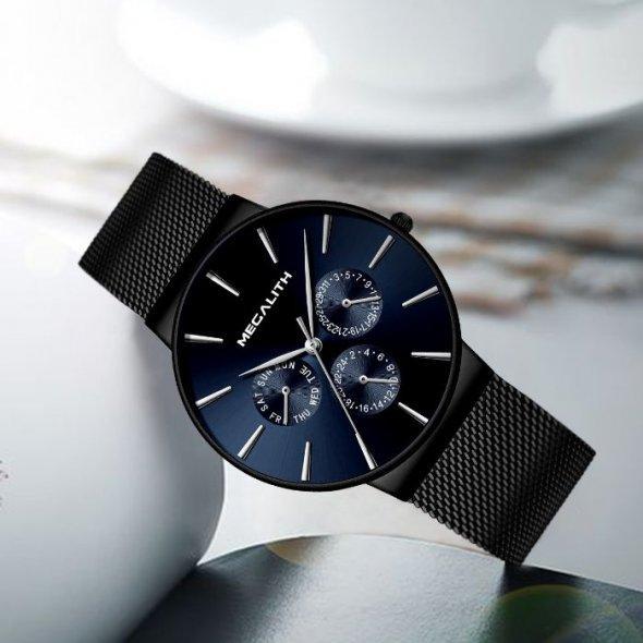 Чоловічі наручні годинники MegaLith Boss