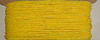 Шнурок бумажный 2-3 мм желтого цвета