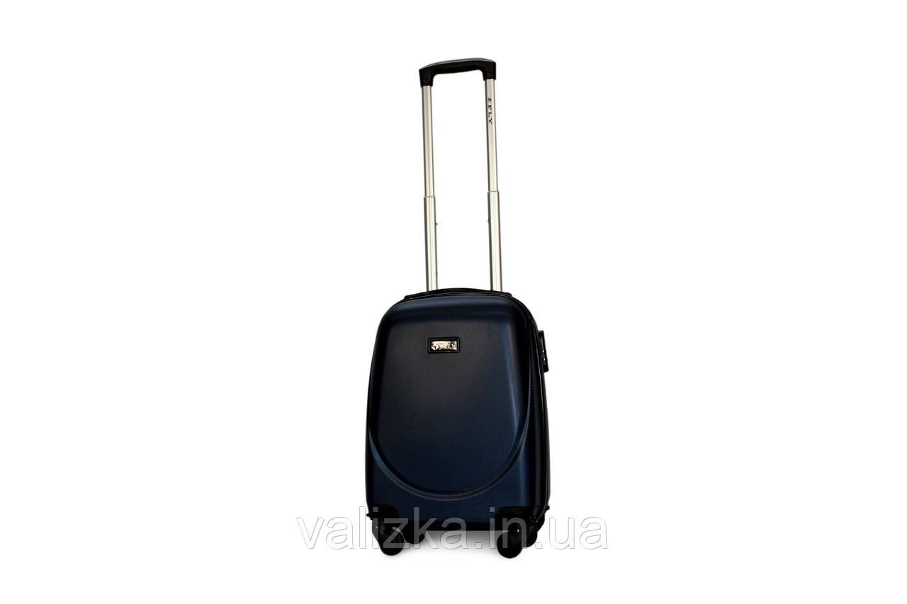 Малый пластиковый чемодан Fly 310 S для ручной клади синий