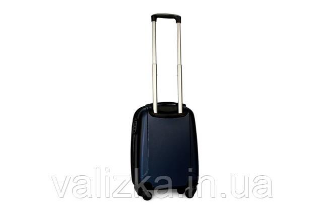 Малый пластиковый чемодан Fly 310 S для ручной клади синий, фото 2