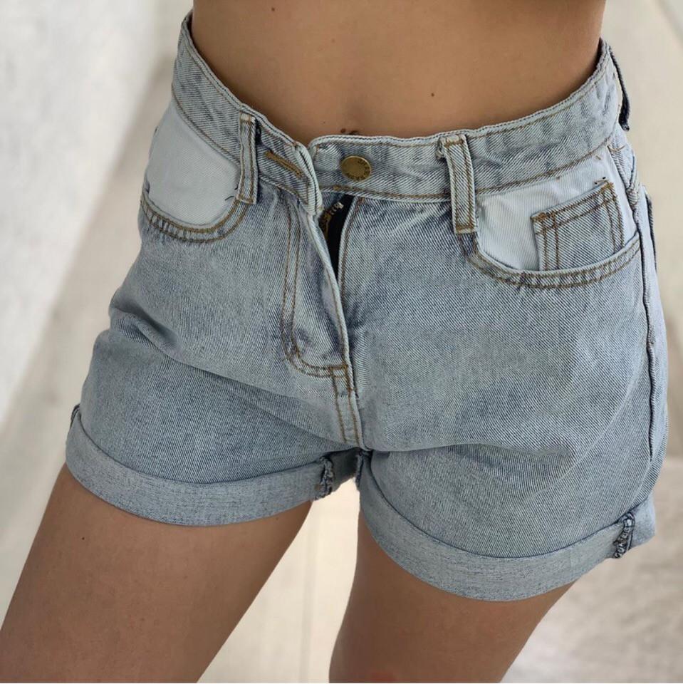 575da18d4848 Новинка 2019! Стильные, женские, джинсовые шорты с подворотами : продажа,  цена в ...